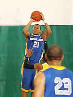 April 8, 2011 - Hampton, VA. USA; Josh Fortune participates in the 2011 Elite Youth Basketball League at the Boo Williams Sports Complex. Photo/Andrew Shurtleff
