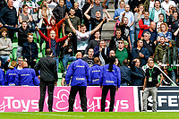GRONINGEN - Voetbal, FC Groningen - FC Twente, Eredivisie, seizoen 2019-2020, 10-08-2019, publiek over de hekken