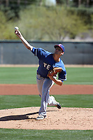 Collin Wiles - 2016 Texas Rangers (Bill Mitchell)