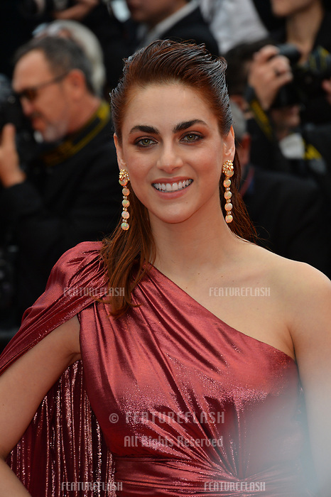 "CANNES, FRANCE. May 20, 2019: Miriam Leone at the gala premiere for ""La Belle Epoque"" at the Festival de Cannes.<br /> Picture: Paul Smith / Featureflash"