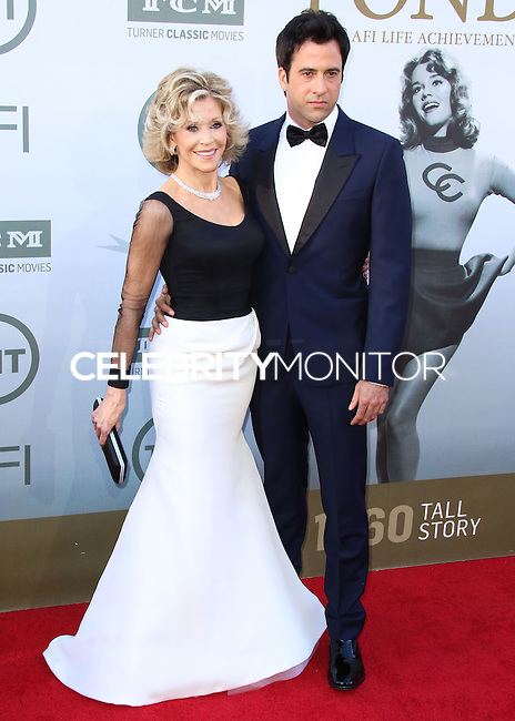 HOLLYWOOD, LOS ANGELES, CA, USA - JUNE 05: Jane Fonda, Troy Garity at the 42nd AFI Life Achievement Award Honoring Jane Fonda held at the Dolby Theatre on June 5, 2014 in Hollywood, Los Angeles, California, United States. (Photo by Xavier Collin/Celebrity Monitor)