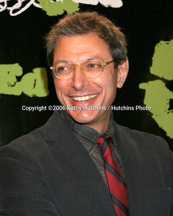 "Jeff Goldblum.""Living With Ed"" Premiere Screening & Party.Sunset Lammle Theater.Los Angeles, CA.December 21,  2006.©2006 Kathy Hutchins / Hutchins Photo...."