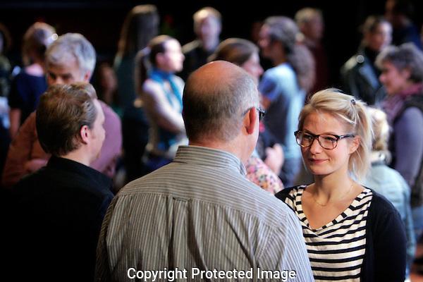 20120929 - Foto: Ramon Mangold - HFM/ Holland Film Meeting: Verspectief. Rechts actrice Eva Smid.