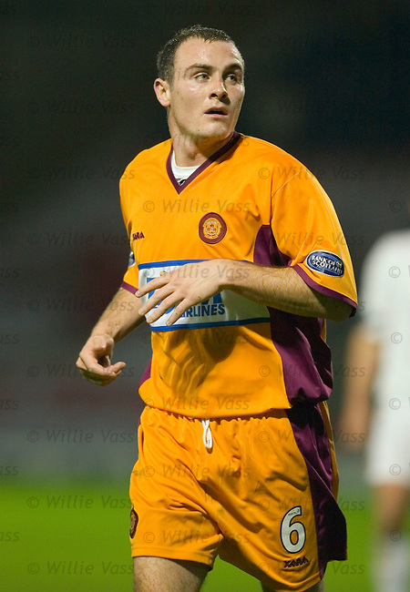 Alan McCormack, Motherwell.stock season 2005-2006.pic willie vass