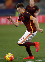 Calcio, Serie A: Roma vs Frosinone. Roma, stadio Olimpico, 30 gennaio 2016.<br /> Roma's Stephan El Shaarawy in action during the Italian Serie A football match between Roma and Frosinone at Rome's Olympic stadium, 30 January 2016.<br /> UPDATE IMAGES PRESS/Isabella Bonotto