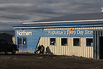 STORES AND BUSINESSES AT KUGLUKTUK, NUNAVUT, CANADA