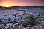 Sunrise over the Grand Staircase Escalante Nat'l. Mon. SR 12 Scenic Byway, UTAH