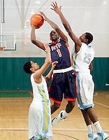 April 9, 2011 - Hampton, VA. USA;  Devon Walker{ participates in the 2011 Elite Youth Basketball League at the Boo Williams Sports Complex. Photo/Andrew Shurtleff