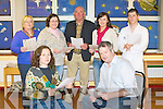 BALLYMAC DRAMA GROUP: Looking for budding actors at the first rehearsal of the Ballymac Drama Group at Clogher N.S. on Monday seated l-r: Amanda Murray and Mick Bolger. Back l-r: Ita O'Brien, Siobhan O'Connor, Roger O'Halloran, Oonagh O'Rahilly and Mike Murray..