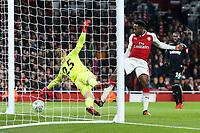 Soccer Football - Carabao Cup Quarter Final - Arsenal vs West Ham United - Emirates Stadium, London, Britain - December 19, 2017   Arsenal's Danny Welbeck scores their first goal  <br /> Premier League 2017/2018 <br /> Foto Panoramic / Insidefoto