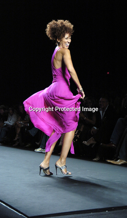 Pat Cleveland ..at the Fashion For Relief Fashion Show Benefit on September 16, 2005 at The Tents at the Olympus Fashion Week with money to be donatted to AmeriCares. ..Photo by Robin Platzer, Twin Images