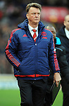 Manchester United Manager Louis van Gaal at the end of the game<br /> - Barclays Premier League - Stoke City vs Manchester United - Britannia Stadium - Stoke on Trent - England - 26th December 2015 - Pic Robin Parker/Sportimage