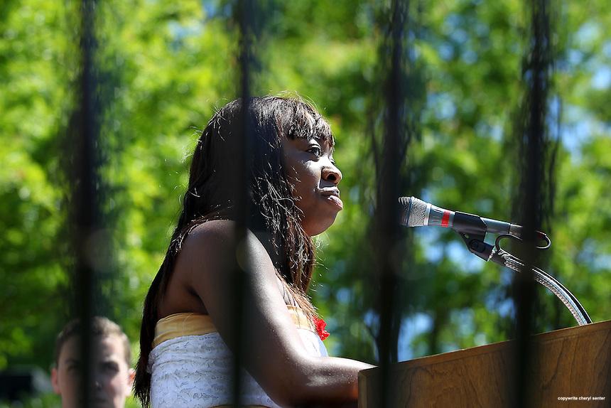 Phillips Exeter graduation in Exeter, N.H., Sunday, June 9, 2013.  (Cheryl Senter for Phillips  Exeter Academy)