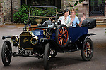 Ard na Sidhe Country House, built in 1913, celebrates its 100th year. Pictured is General Manager Jennifer Dowling and her Grandmother Kathleen, a previous manager of Ard na Sidhe, enjoying a jaunt in a 100 year old Ford Model T car. Ard na Sidhe Country House is open seasonally from 1st May to 30th September. See www.ardnasidhe.com   for details.<br /> Photo: Don MacMonagle<br /> <br /> PR photo Ard an Sidhe<br /> Pr info: AlisonKeegan@Presence.ie