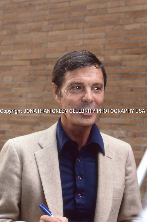 Louis Jourdan 1984 by Jonathan Green