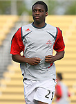 31 March 2007: Toronto's Jamal Smith.  The United Soccer League Division 1 Charleston Battery lost to Major League Soccer expansion team Toronto FC 3-0 in a preseason game at Blackbaud Stadium on Daniel Island in Charleston, SC, as part of the Carolina Challenge Cup.