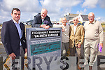 Pictured at the unveiling of Renard Railway Monument on Friday were l-r; Joe Murphy, Alan Ryan-Hall, Mortimer Moriarty, Tom Horgan & Denis O'Connor(Chairman Heritage Iveragh).