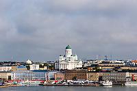 Finland, Helsinki. The Helsinki Cathedral.