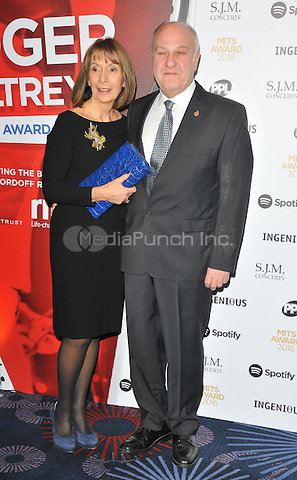 guest and Harvey Goldsmith at the Music Industry Trusts Awards 2016, Grosvenor House Hotel, Park Lane, London, England, UK, on Monday 07 November 2016. <br /> CAP/CAN<br /> &copy;CAN/Capital Pictures /MediaPunch ***NORTH AND SOUTH AMERICAS ONLY***