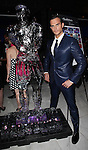 Cheyenne Jackson with an ice sculpture in his likeness attending the Broadway Opening Night Performance After Party for 'The Performers' at E-Space in New York City on 11/14/2012