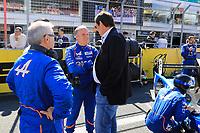 PHILIPPE SINAULT (FRA) SIGNATECH ALPINE TEAM MANAGER - GERARD NEVEU (FRA) CEO FIA WEC