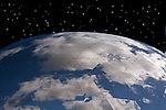Earth from Space, or at least it just looks that way.