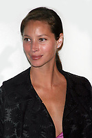 CHRISTY TURLINGTON 2004<br /> AT OLYMPUS FASHION WEEK: MARC JACOBS SPRING 2005 COLLECTION AT PIER 54 IN NEW YORK CITY <br /> Photo By John Barrett/PHOTOlink