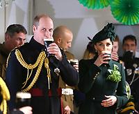 Prince William Duke of Cambridge and Kate Duchess of Cambridge - St Patricks Day