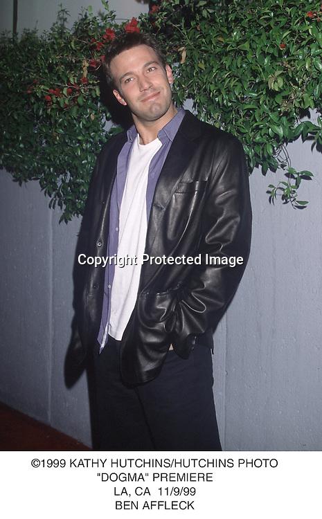 ©1999 KATHY HUCTHINS/HUTCHINS PHOTO.DOGMA PREMIERE.11.9.99.BEN AFFLECK