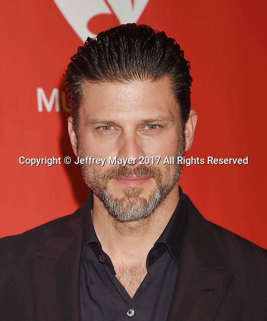 LOS ANGELES, CA - FEBRUARY 10: Actor Greg Vaughan attends MusiCares Person of the Year honoring Tom Petty at the Los Angeles Convention Center on February 10, 2017 in Los Angeles, California.
