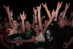 A large and enthusiastic audience at the Dream Theater Band performance in Tel Aviv, June 16 2009. Photo By : Tess Scheflan / JINI