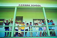 EDITORIAL ONLY. Kids at Keanae School, Maui