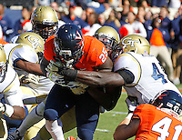 DUPLICATE***Virginia safety David Marrs (25)***Virginia running back Kevin Parks (25) Georgia Tech football competes against Virginia in Charlottesville, VA. Photo/Andrew Shurtleff