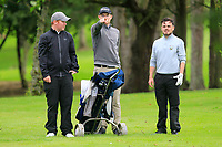 Ruairi O'Connor & Thomas Finnegan (Co.Sligo) on the 18th during the Final of the AIG Barton Shield in the AIG Cups & Shields Connacht Finals 2019 in Westport Golf Club, Westport, Co. Mayo on Saturday 10th August 2019.<br /> <br /> Picture:  Thos Caffrey / www.golffile.ie<br /> <br /> All photos usage must carry mandatory copyright credit (© Golffile | Thos Caffrey)