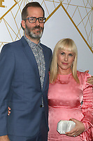 LOS ANGELES - SEP 21:  Eric White, Patricia Arquette at the Showtime Emmy Eve Party at the San Vicente Bungalows on September 21, 2019 in West Hollywood, CA