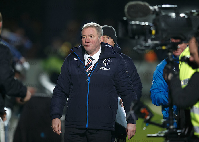Ally McCoist shellshocked at the final whistle as he turns away