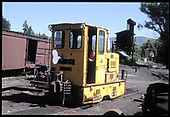 Diesel #548 in Chama.<br /> D&amp;RGW  Chama, NM  Taken by Berkstresser, George