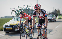 John Degenkolb (DEU/Team Giant-Alpecin) &amp; Peter Sagan (SVK/Tinkoff) mid-race<br /> <br /> 12th Eneco Tour 2016 (UCI World Tour)<br /> stage 3: Blankenberge-Ardooie (182km)