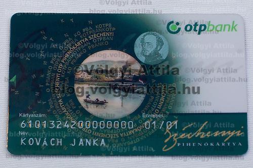 SZEP kartya, Szechenyi Piheno Kartya