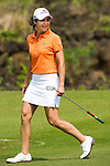 HAIKOU, CHINA - OCTOBER 30:  Lorena Ochoa of Mexico walks on the 4th green during day four of the Mission Hills Start Trophy tournament at Mission Hills Resort on October 30, 2010 in Haikou, China. The Mission Hills Star Trophy is Asia's leading leisure liflestyle event and features Hollywood celebrities and international golf stars. Photo by Victor Fraile / The Power of Sport Images