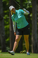 Brittany Lincicome (USA) watches her tee shot on 2 during round 1 of the U.S. Women's Open Championship, Shoal Creek Country Club, at Birmingham, Alabama, USA. 5/31/2018.<br /> Picture: Golffile | Ken Murray<br /> <br /> All photo usage must carry mandatory copyright credit (&copy; Golffile | Ken Murray)