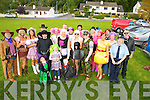 Louise Collett Heenan, Pinewood Estate, Killarney,centre,  pictured with her family and friends as they celebrated her 30th birthday with a trip to Dingle in fancy dress on Saturday. ................................................