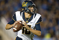 California quarterback Jared Goff in action during the game against UCLA at Rose Bowl in Pasadena, California on October 12th, 2013.   UCLA defeated California, 37-10.