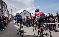 race leaders up Côte de Saint-Roch in  Houffalize<br /> <br /> 103rd Liège-Bastogne-Liège 2017 (1.UWT)<br /> One Day Race: Liège › Ans (258km)