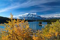 Sunrise at Teo Jack Lake in Banff National Park