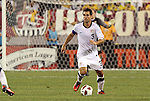 10 AUG 2010: Carlos Bocanegra (USA). The United States Men's National Team lost to the Brazil Men's National Team 0-2 at New Meadowlands Stadium in East Rutherford, New Jersey in an international friendly soccer match.