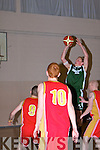 St Brendan's Tralee v St Mary's Castleisland in the Div 2 County League at the Presentation Secondry School Gym on Friday night.......... ..............................   Copyright Kerry's Eye 2008