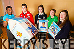 Youthfast for Trocaire - Young teenagers from the Tralee area doing a fast in aid of Trocaire on the 27th of March from 9pm to 9am.Taking part are pictured David Oba, Gary Clifford, Emma Pierce,Catriona Horgan and Ciara Dennehy.