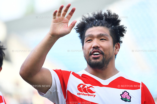 Shota Horie (JPN), <br /> MAY 6, 2017 - Rugby : <br /> Asia Rugby Championship 2017 <br /> match between Japan 29-17 Chinese Taipei <br /> at Prince Chichibu Memorial Stadium in Tokyo, Japan. <br /> (Photo by AFLO SPORT)