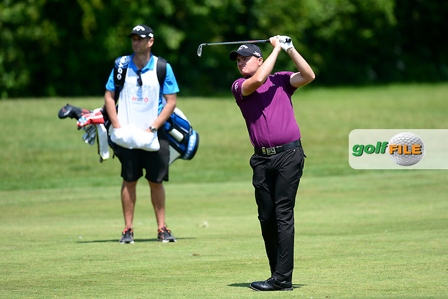 James Morrison of England during Round 2 of the Lyoness Open, Diamond Country Club, Atzenbrugg, Austria. 10/06/2016<br /> Picture: Richard Martin-Roberts / Golffile<br /> <br /> All photos usage must carry mandatory copyright credit (&copy; Golffile | Richard Martin- Roberts)